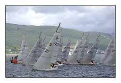 Yachting- The second start of the Bell Lawrie Scottish series 2002 at Inverkip racing to Tarbert Loch Fyne where racing continues over the weekend.<br /><br />Odyssey K9156Y and Pepsi IRL633 win the final Sigma 33 start.<br /><br />Pics Marc Turner / PFM
