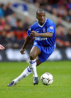 Claude Makelele (Chelsea). Charlton Athletic v Chelsea. 26/12/2003. Credit : Colorsport/Andrew Cowie.