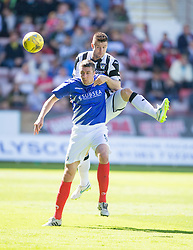 Dunfermline 7 v 1 Cowdenbeath, SPFL Ladbrokes League Division One game played 15/8/2015 at East End Park.