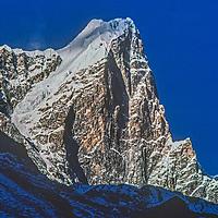 6367-meter Taboche Peak in the Khumbu region of Nepal's Himalaya.