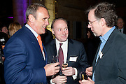 A.A.GILL; ANDREW ROBERTS; HUGH THOMSON, Orion Authors' Party celebrating their 20th anniversary. Natural History Museum, Cromwell Road, London, 20 February 2012.