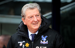 Crystal Palace manager Roy Hodgson during the Premier League match at Selhurst Park, London.