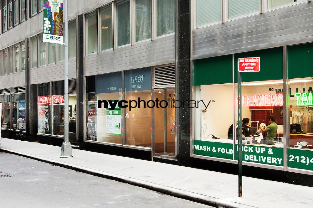 Entrance at 90 Williams Street