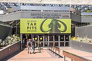 La Brea Tar Pits Museum Entrance in Los Angeles