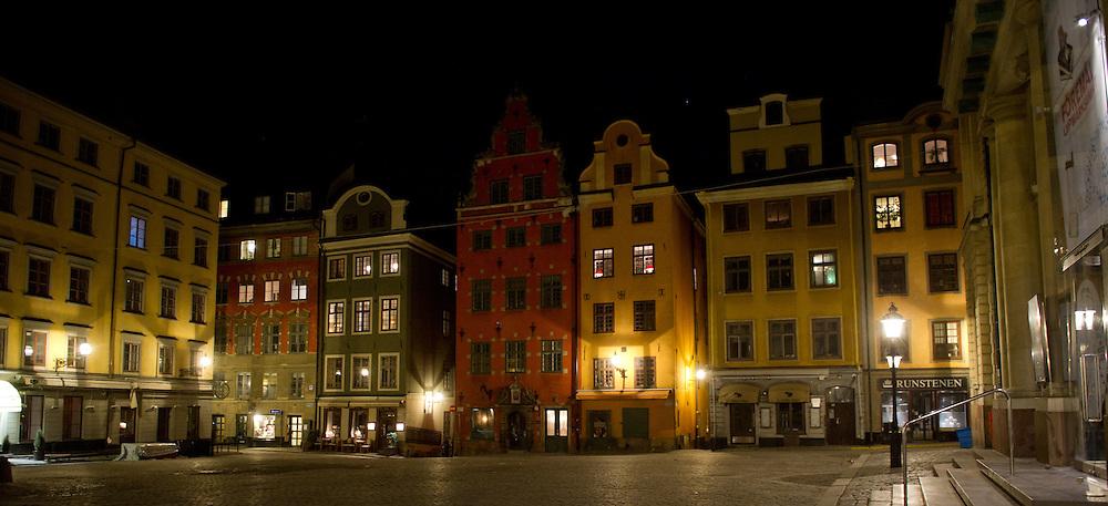 Stockholm - Gamla stan at night