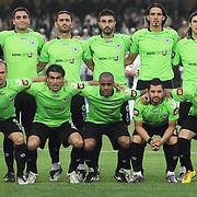 Konyaspor's players during their Play Off Second leg match at AliSamiYen Stadium in Istanbul Turkey on Thursday, 20 May 2010. Photo by TURKPIX