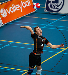 Martijn Brilhuis of Talent Team in action during the first league match in the corona lockdown between Talentteam Papendal vs. Vocasa on January 13, 2021 in Ede.