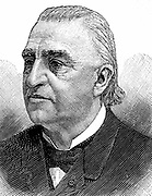 Jean Martin Charcot (1825-1903) French neurologist and pathologist. Studied hypnotism. Worked at Salpetriere, Paris from 1862. Freud amongst his pupils. Engraving, 1893
