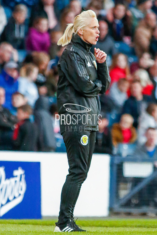 Scotland Head Coach Shelly KERR (SCO) during the International Friendly match between Scotland Women and Jamaica Women at Hampden Park, Glasgow, United Kingdom on 28 May 2019.