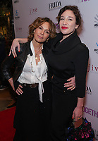 Jennifer Grey and Emma Forrest at Los Angeles Premiere Of 'Untogether' held at Frida Restaurant on February 08, 2019 in Sherman Oaks, California, United States (Photo by JC Olivera)