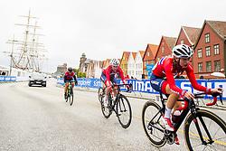 September 22, 2017 - Bergen, NORWAY - 170922 Amalie Lutro and Martine GjÂ¿s of Norway compete during the Women Junior Road Race on September 22, 2017 in Bergen..Photo: Vegard Wivestad GrÂ¿tt / BILDBYRN / kod VG / 170023 (Credit Image: © Vegard Wivestad Gr¯Tt/Bildbyran via ZUMA Wire)