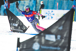 Cheyenne Loch (GER) during parallel giant slalom FIS Snowboard Alpine world championships 2021 on 1st of March 2021 on Rogla, Slovenia, Slovenia. Photo by Grega Valancic / Sportida