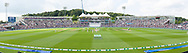 Panoramic image on the Rod Bransgrove Pavilion, Colin Ingleby-Mackenzie and Shane Warne Stands during the second day of the 4th SpecSavers International Test Match 2018 match between England and India at the Ageas Bowl, Southampton, United Kingdom on 31 August 2018.