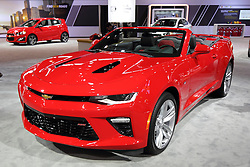 11 February 2016: Chevrolet Camaro SS Convertible.<br />