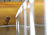 Geraint Thomas track day at the Wales national velodrome in Newport on Monday 24th Oct 2011. pic by Andrew Orchard for Newport city council.