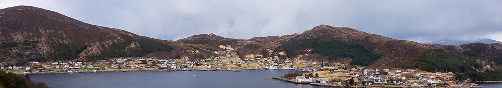Highresolution panorama over Leinøy, Norway | Høyoppløslig panorama over Leinøy, Norge