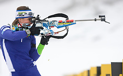 Andreja Mali at training session of Slovenian biathlon team before new season 2009/2010,  on November 16, 2009, in Pokljuka, Slovenia.   (Photo by Vid Ponikvar / Sportida)