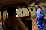 Shafiq Syed, 34, is driving his rickshaw on the streets surrounding the poor Bangalore neighbourhood, Karnataka, India, where he now lives with his family. Shaifq has been the main character of the Cannes' Camera D'Or 1988 winner Salaam Bombay, but after the movie he failed to become a star, fell back into poverty and lived on the streets for years before he became a rickshaw (tuk-tuk) driver in his home city of Bangalore, Karnataka State, India.