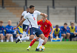 NEWPORT, WALES - Friday, September 3, 2021: England's Lee Jonas during an International Friendly Challenge match between Wales Under-18's and England Under-18's at Spytty Park. (Pic by David Rawcliffe/Propaganda)