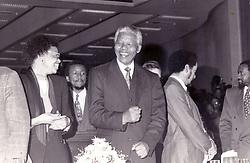 Graca and Nelson Mandela.