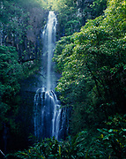 Wailu Falls, Island of Maui, Hawaii.