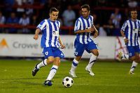 Jon Routledge. Kidderminster Harriers FC 1-1 Stockport County. Blue Square Bet Premier. 23.8.11