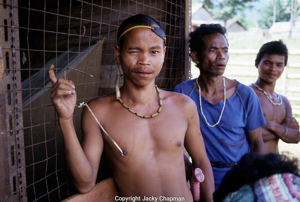 People of the Murat hill tribe in Malaysia