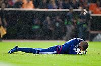 Valencia's  Jaume Domenech  during Champions league match. October 20, 2015. (ALTERPHOTOS/Javier Comos)
