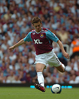 Photo: Tony Oudot. <br /> West Ham United v Manchester City. Barclays Premiership. 11/08/2007. <br /> George McCartney  of West Ham