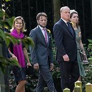 NLD/Den Haag/20190822 - Uitvaart Prinses Christina, Prins Carlos de Bourbon de Parme en prinses Annemarie <br /> met Prinses Carolina de Bourbon de Parme