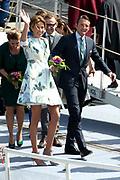 Koningsdag in Dordrecht / Kingsday in Dordrecht<br /> <br /> Op de foto / On the photo: <br /> <br />  Prinses Marilene en prins Maurits