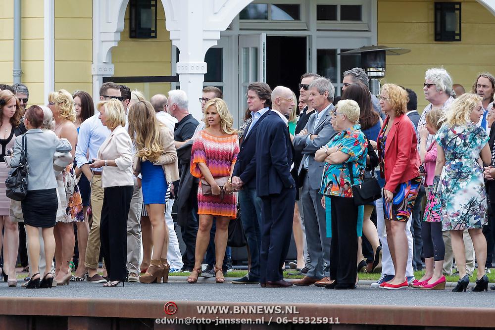 NLD/Huizen/20120707 - Huwelijk Jeroen Nieuwenhuize en Kayla Borderveld, Erik de Zwart en partner Marika