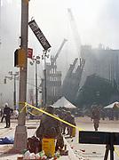 Photo copyright ©Suzi Altman Sept 11th 2001. Ground Zero- day 3