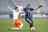 Shirley Cruz  - 20.12.2014 - PSG / Montpellier - 14eme journee de D1<br /> Photo : Andre Ferreira / Icon Sport