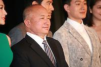 Zhang Ziyi, John Woo, Dawei Tong, at Press Conference for John Woo's forthcoming film The Crossing, Saturday 17th May 2014, Cannes, France.