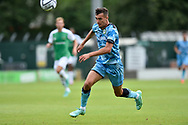 Taylor Allen (12) of Forest Green Rovers on the attack during the Pre-Season Friendly match between Yeovil Town and Forest Green Rovers at Huish Park, Yeovil, England on 31 July 2021.