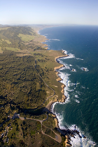 Fort Ross Cove looking south, North Coast MLPA study site