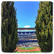 iPhone Instagram of Target Field on Opening Day on April 7, 2014