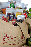 Lucy's granola photo shoot and food styling