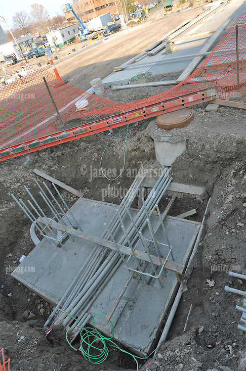 Construction Progress Photography of the Railroad Station at Fairfield Metro Center. 29th Site Visit, wall to wall coverage, of once per month periodic project photography. Primary Contractor: The Middlesex Corporation, Littleton, MA. Owner: Connecticut Department of Transportation. Serving Metro-North Commuter Railroad. Project is wrapping, Landscaping underway.
