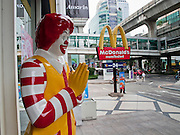 09 OCTOBER 2009 -- BANGKOK, THAILAND: A McDonald's fast food restaurant in Bangkok, Thailand. PHOTO BY JACK KURTZ