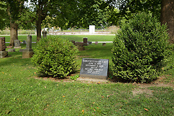 26 August 2017:   A part of the History of McLean County Illinois.<br /> <br /> Tombstones in Evergreen Memorial Cemetery.  Civic leaders, soldiers, and other prominent people are featured.<br /> <br /> Section 7b Tier<br /> Dorothy Louise Gage<br /> June 11 1898<br /> November 11 1898<br /> Niece of Mr. & Mrs L Frank Baum<br /> Namesake of Dorothy of the Wizard of Oz