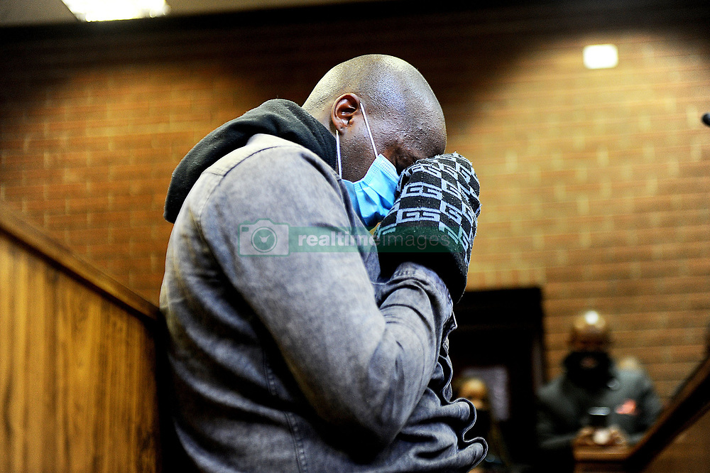South Africa - Johannesburg - 23 July 2020 - 31 year old Muzikayise Malephane at the Roodepoort Magistrate Court, he faces premeditated murder charges for Tshegofatso Pule's death. She was found hanging from a tree in Durban Deep with multiple stab wounds last month.<br />Picture: Nokuthula Mbatha/African News Agency(ANA)