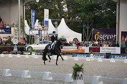 Gal Edward (NED) - Glock's Undercover <br /> CDIO5 Grand Prix Freestyle <br /> CHIO Rotterdam 2014<br /> © Dirk Caremans