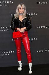 Cassyette arrives at the Fenty Beauty by Rihanna launch party at Harvey Nichols, Knightsbridge, London,