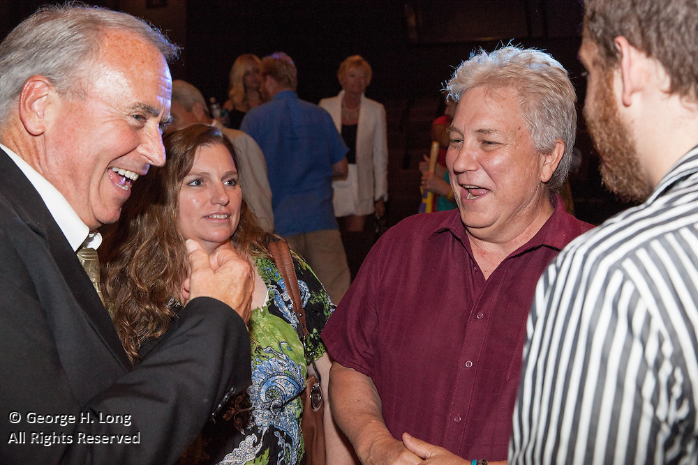 """WDSU-TV premiere event for """"Chronicle: The Cuban Evolution"""" at the Contemporary Arts Center in New Orleans on June 26, 2015"""
