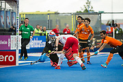 Phil Roper. England v Malaysia - 3rd/4th Playoff - Hockey World League Semi Final, Lee Valley Hockey and Tennis Centre, London, United Kingdom on 25 June 2017. Photo: Simon Parker