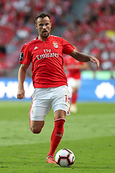 October 7, 2018 - Lisbon, Portugal - Benfica's Suisse forward Haris Seferovic in action during the Portuguese League football match SL Benfica vs FC Porto at the Luz stadium in Lisbon on October 7, 2018. (Credit Image: © Pedro Fiuza/NurPhoto/ZUMA Press)
