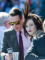 National Hunt Horse Racing - 2017 Randox Grand National Festival - Saturday, Day Three [Grand National Day]<br /> <br />  Racegoers in the crowd before  the 1st race the 1.45 Gaskells Handicap Hurdle at Aintree Racecourse.<br /> <br /> COLORSPORT/WINSTON BYNORTH