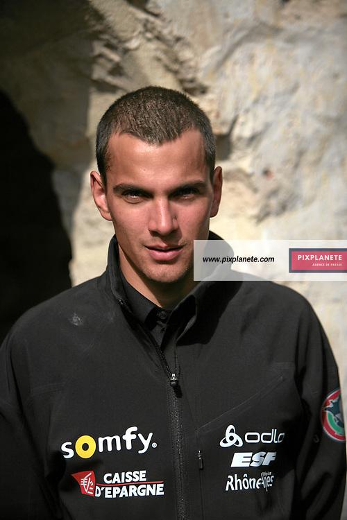 Loïs Habert - Biathlon - présentation de l'équipe de France de ski 2007-2008 - Photos exclusives - 9/10/2007 - JSB / PixPlanete